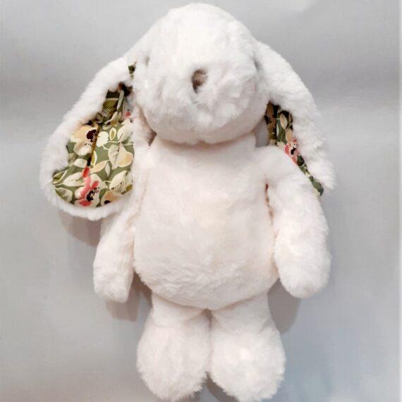 Coniglietta peluches bianca (Niggia)