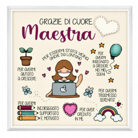 Quadretto Maestra